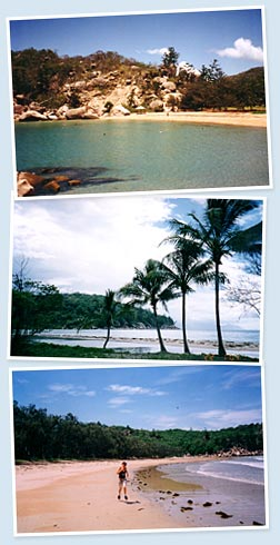Scenic images of Magnetic Island